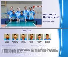 Flyer Heimspiele Oberliga 2017